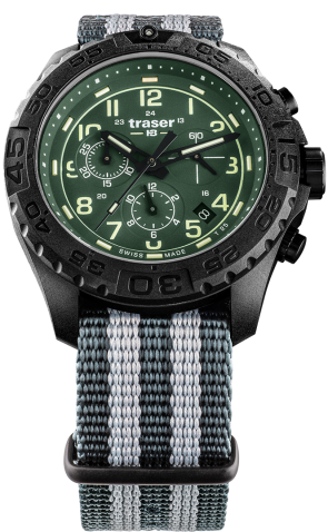 P96 OdP Evolution Chrono Green Natoband