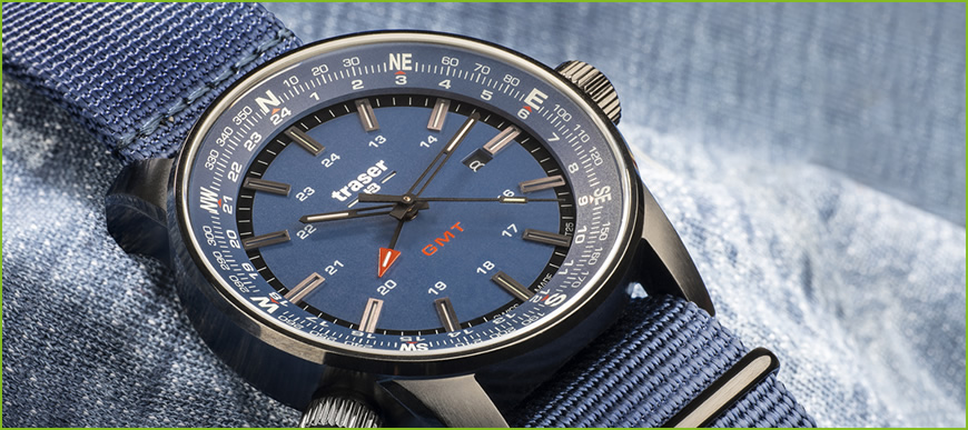P68 Pathfinder GMT Blue